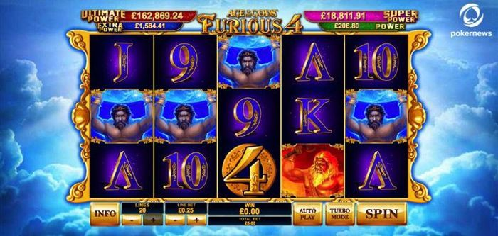 Age of the Gods Real Money Slots