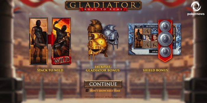 Gladiator Road to Rome Spielautomat apps real money