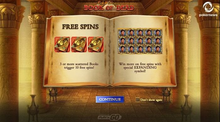 Book of Dead Free Slots for Real Money