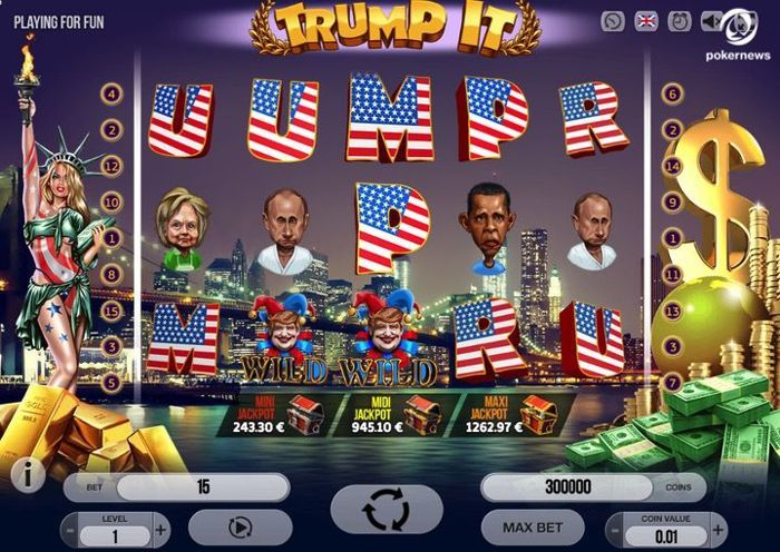 Trump It free slots win real money no deposit required