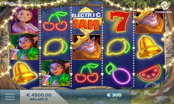 Electric Sam Real Cash Payout Slots