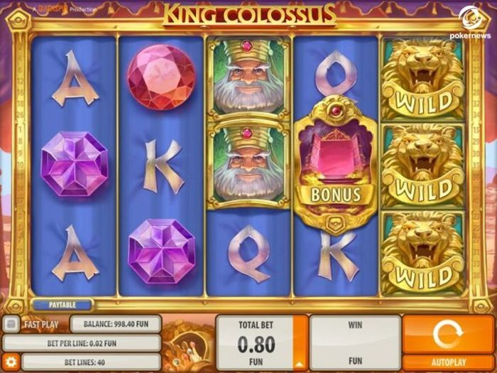 King Colossus free games you can win real money