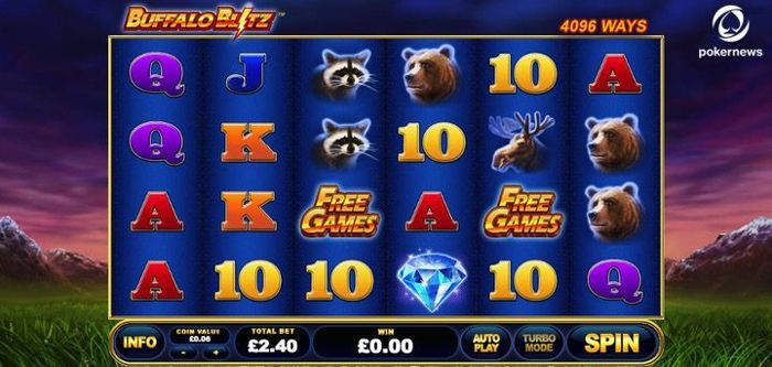 Buffalo Blitz play and win real money