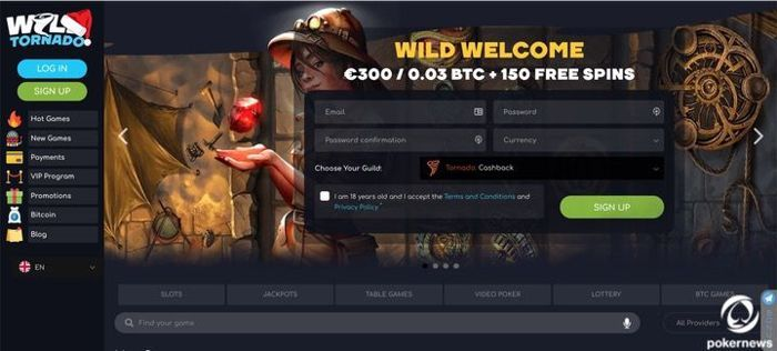 Casino Tornado Poker Club