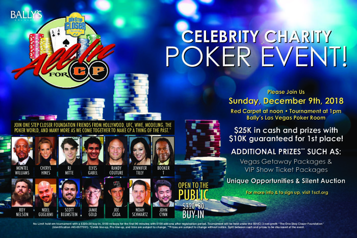 All In for CP Charity Poker Event to Run at Bally's December 9 101