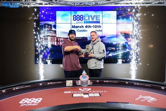 James Williams and 2017 WSOP Main Event Champion Scott Blumstein