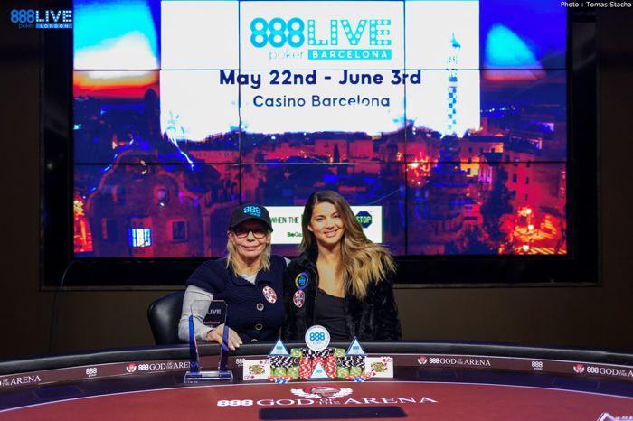 Ladies Event Champion Natalia Drytchak and Sofia Lovgren