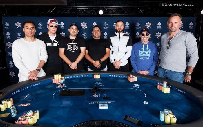 2018 WSOP International Circuit The Star Sydney $1,320 6-Max Final Table