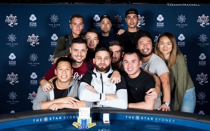 Huss Hassan - 2018 WSOP International Circuit The Star Sydney$1,320 6-Max Winne