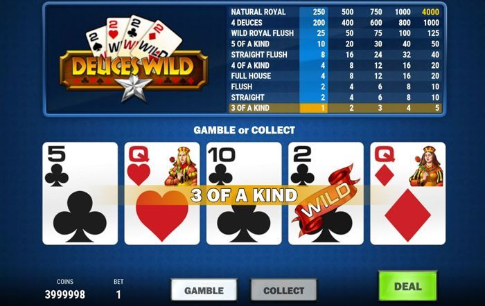 deuces wild mh poker free