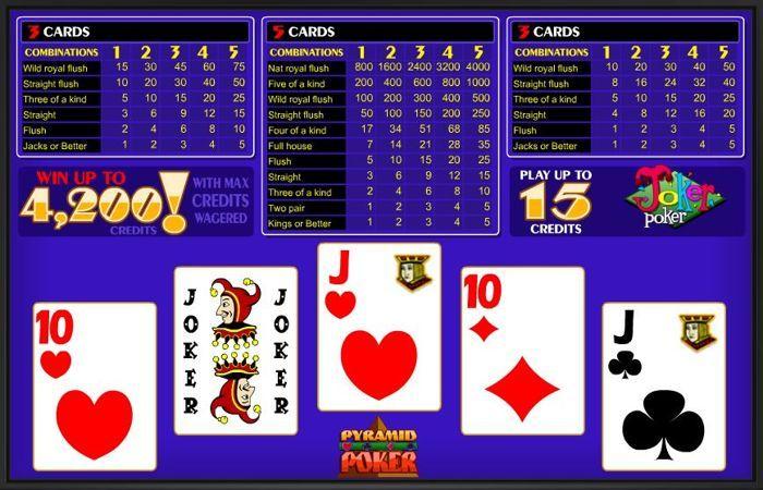 покер бесплатно онлайн джокер играть