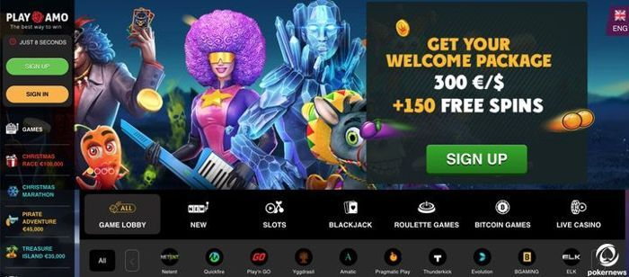 Playamo Android Casino App to play Slots on Android