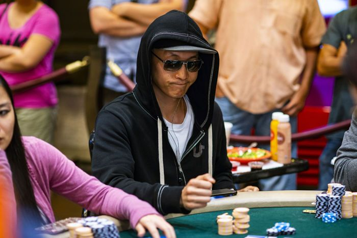 Steve Sung in the WPT Gardens.