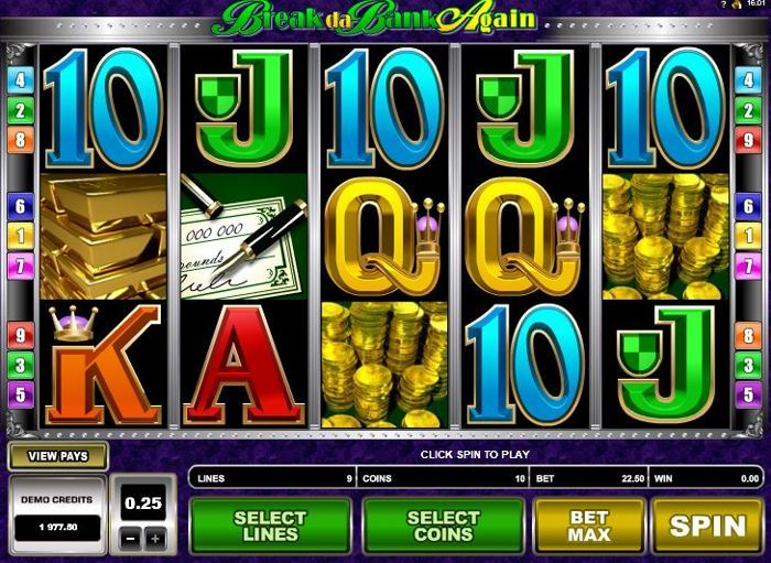 Break da Bank Again Slot Free Play