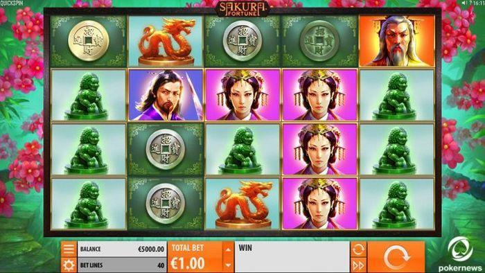 Sakura Fortune Online Slot