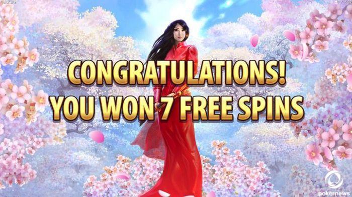 Sakura Free Game Free Spins