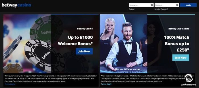 Betway is one of the newest mobile Casinos in 2019