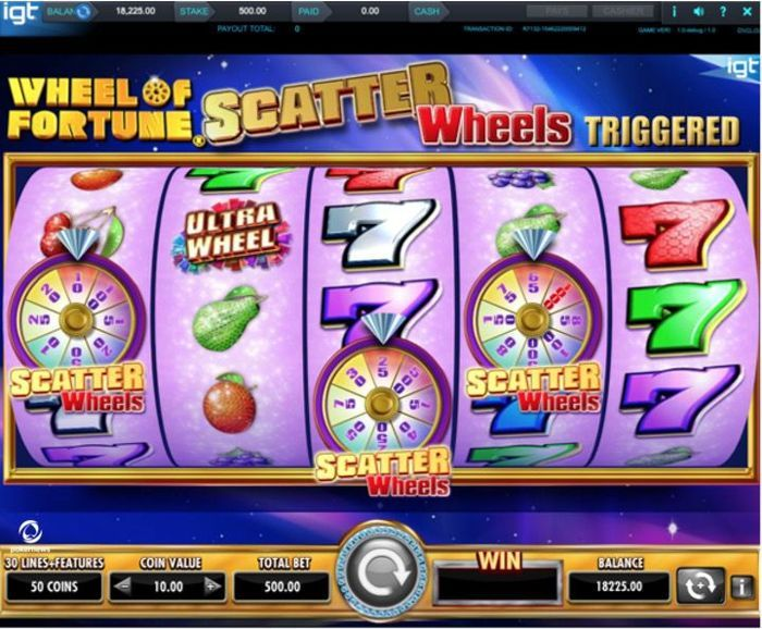 Slot wheel of fortune game free