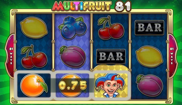 multifruit 81 slot machine vegas style