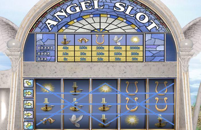 angel slot vegas free play