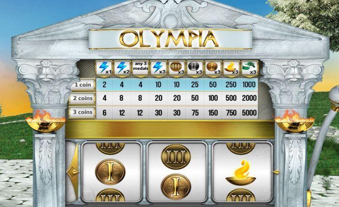 olympia vegas style slot machine free play