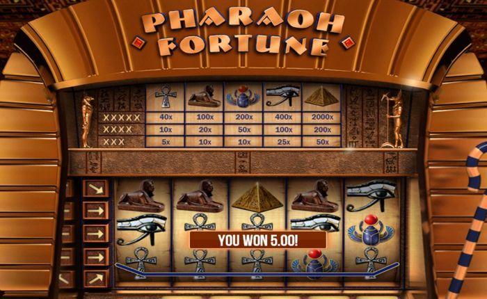 pharaoh fortune slot