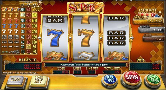 super 7 slot