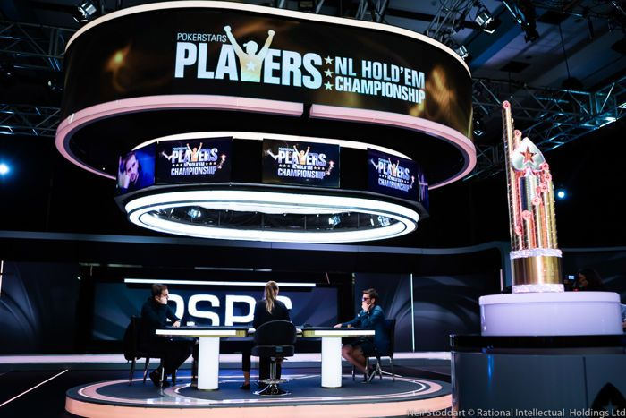 Julien Martini (left) heads-up against Ramon Colillas for the PSPC Title and $5.1 million
