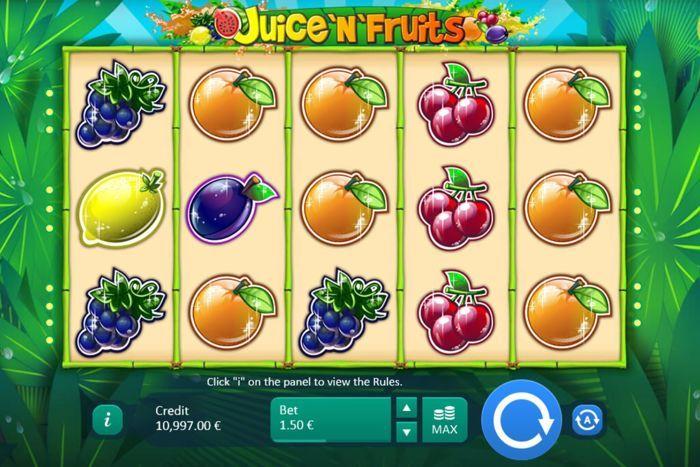 juice'n'fruits slot