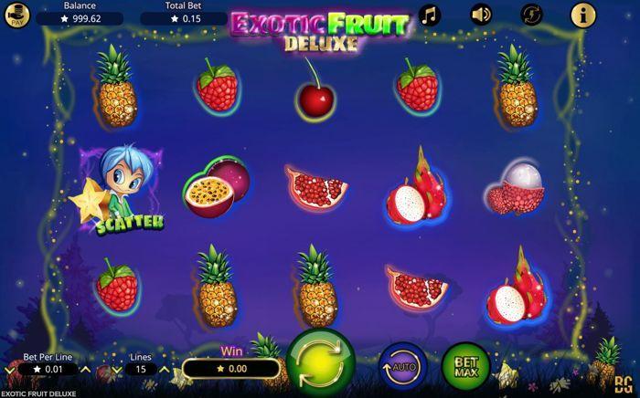 exotic fruit deluxe slot free