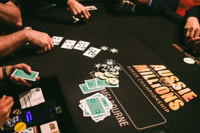 H.O.R.S.E. action at the 2019 Aussie Millions