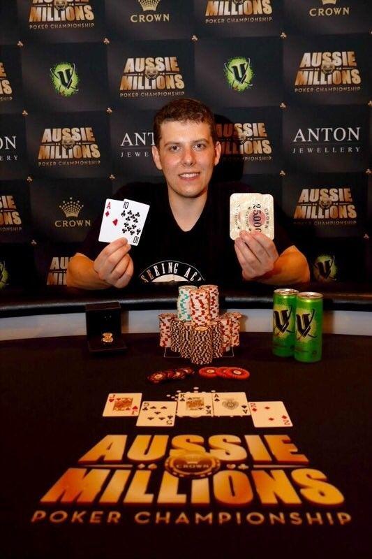 Ari Engel Wins Second Aussie Millions Ring in Event #5: Mix Max 101