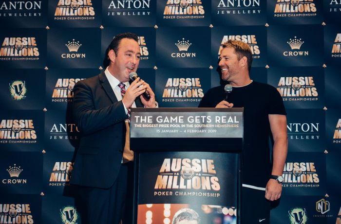 Shane Warne Shuffle Up and Deal