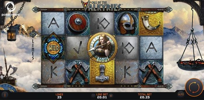 Call of the Valkyries is a game to play if you want online Slots with a welcome bonus in the UK
