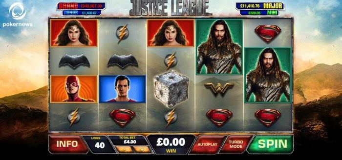 Justice League is one of the best online Slots in the UK with a no deposit bonus