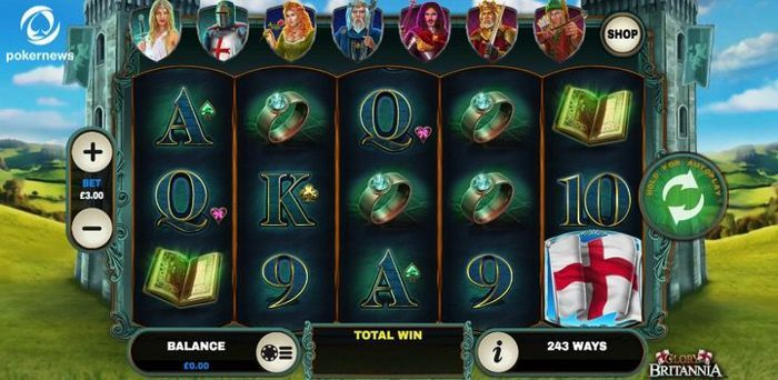 Glory and Britannia is an online slot for UK Mobile Casinos