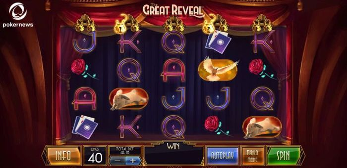 The great reveal is one of the best new online Slots in the UK