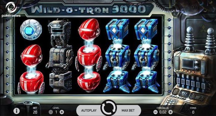 Play the Wild O Tron 3000 Slot Safely and Securely from the United Kingdom
