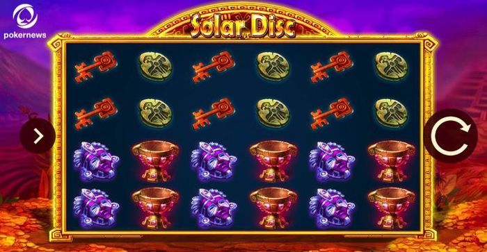 Solar Disc is a great online Casino Slot for mobile devices