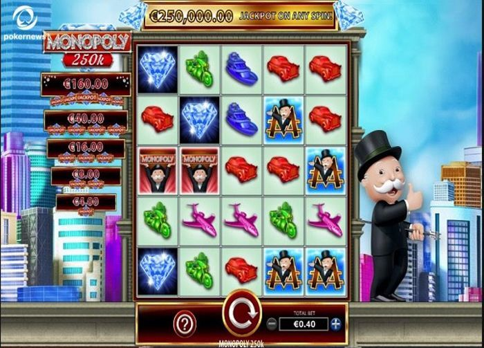 Want to play great video Slots? Try Monopolu 250k!