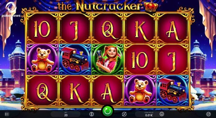 The nutcracker online video Slot is a lot better than the average fruit machine you can play in the United Kingdom