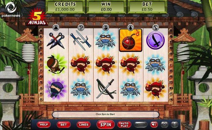 Top UK Slots: 5 Ninjas