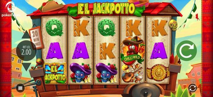 Play UK Slots to win Cash with El Jackpotto