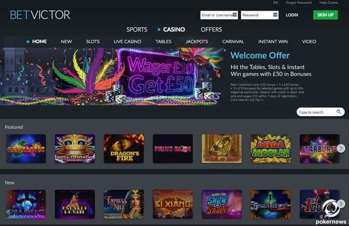 BetVictor Casino UK