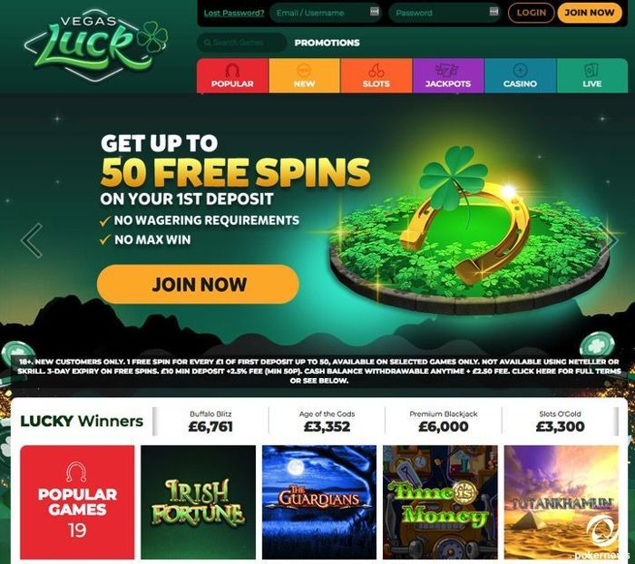 Vegas Luck Casino United Kingdom Mobile Casinos