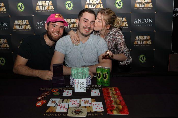 AU$25,000 Pot Limit Omaha Champion Anton Morgenstern