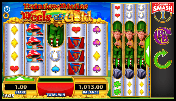 Rainbow Riches Free Slots: Win Your Own Pot of Gold | PokerNews