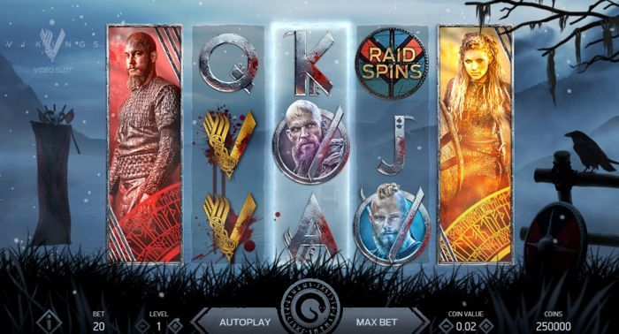 Spielen Sie Vikings Spielautomat online