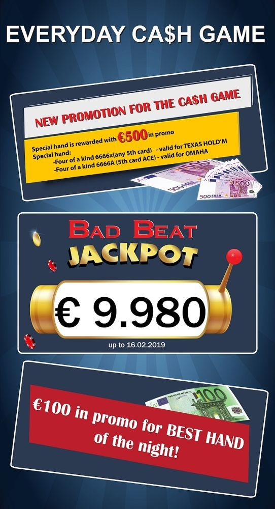 Apollonia: Διαγωνισμός στο Instagram, bad beat jackpot και cash game... 101