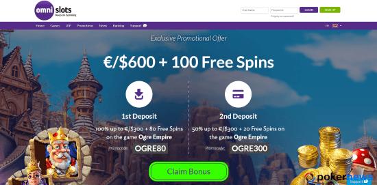 Omni Slots bonus